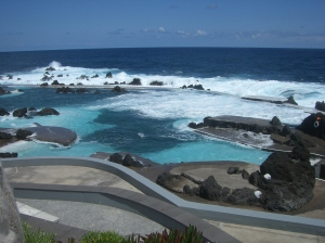 Rock pools at Porto Moniz